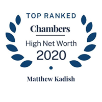 Frantz Ward Partner Matthew Kadish Ranked in Highest Band in 2020 Chambers USA High Net Worth Guide Thumbnail